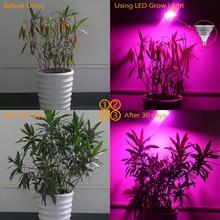 NEWEST E27 LED Grow Light Bulb Plant Growing Lamp for Hydroponic Garden AC85V-240V 15W / 21W / 27W / 36W / 45W / 54W E#CH