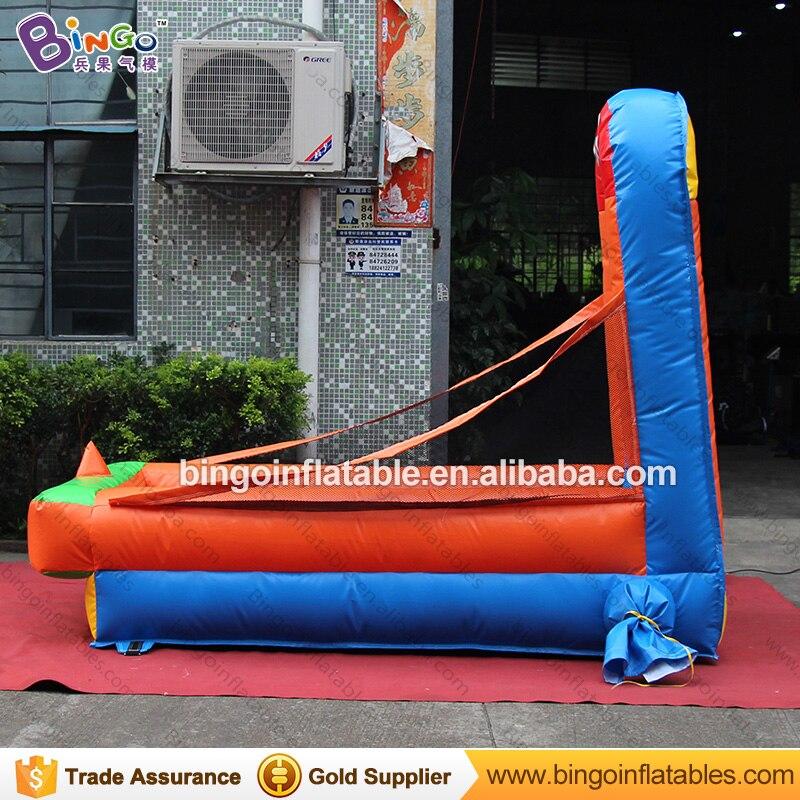 Прочный 1,3x2,5x2 м надувная площадка для бейсбола, метания типа карнавальных игр для взрослых и детей, игрушка для стрельбы, вышибатель, бесплатная доставка - 5