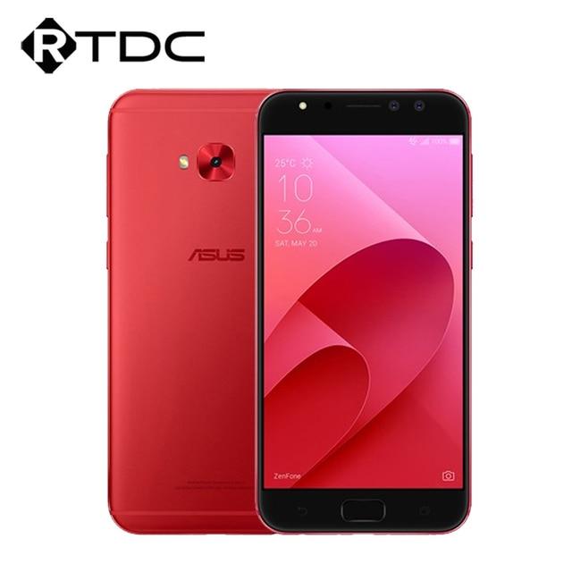 "Original ASUS Zenfone 4 Selfie Pro ZD552KL Mobile phone 5.5""FHD Octa Core Snapdragon 625 4GB RAM 64GB ROM Dual 12MP Front Camera"