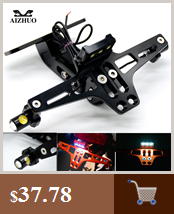 Мотоцикл Номерных Знаков держатель номер светодиодный поворотник для honda vfr 800 mt 03 xt 600 f800r yamaha r15 mt 125 fz6n