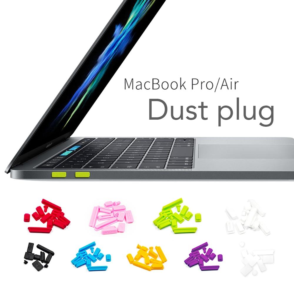 Dust Stopper For Macbook Pro 13 Air 11/15 Silicone Computer USB Dust Proof Rubber Cover Stopper Laptop Dust Plug 5pcs/9pcs/12pcs