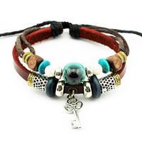 SSHINE Women And Men Leather Bracelet Unisex Fine Jewelry Bracelets & Bangles Rope Chain Charm Bracelet Rock