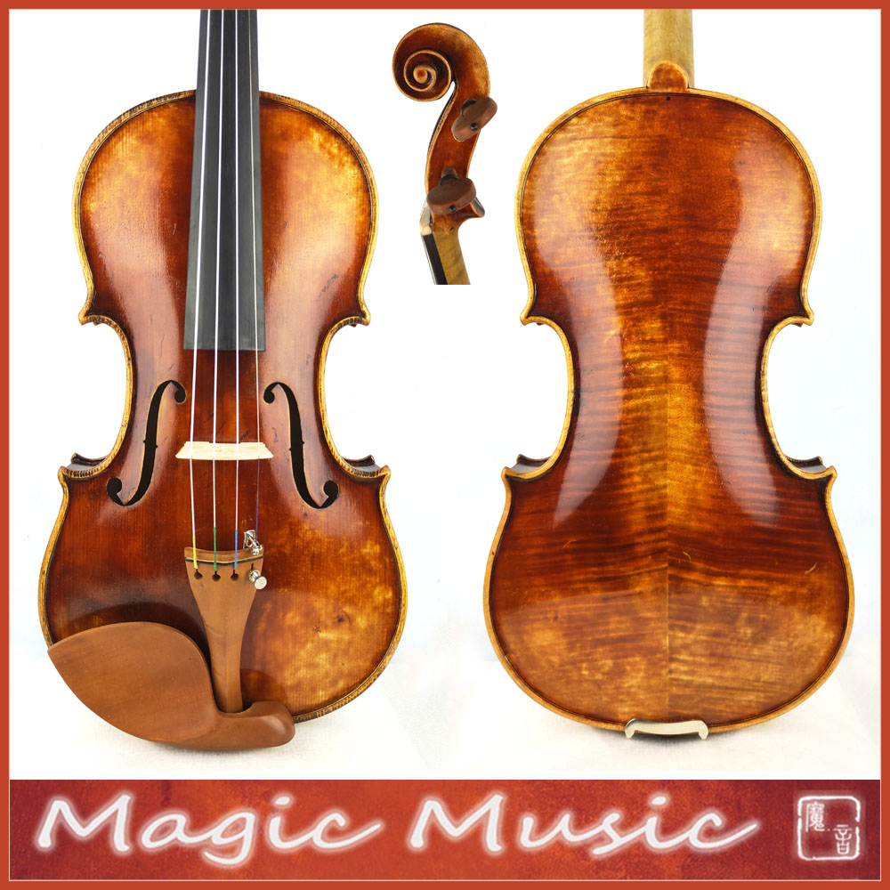 Bone Nut A Really Impressive Workshop Master Violin 4 4 2107 Russian Spruce Oil Varnish handmade