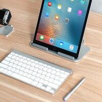 Fashion Aluminum Flat Panel Computer Bracket Flat Bracket Cooling Base Bracket For Apple IPad Pro Surface
