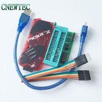 Free Shipping PICKIT2 Programmer PIC ICD2 PICKit 2 Programming Adapter Universal Programmer Seat