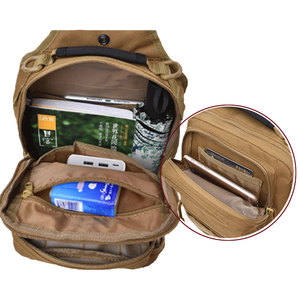 Image 3 - Tactical Chest Backpack Military Bag Hunting Fishing Bags Camping Hiking Army Hiking Backpacks Mochila Molle Shoulder Pack XA65A