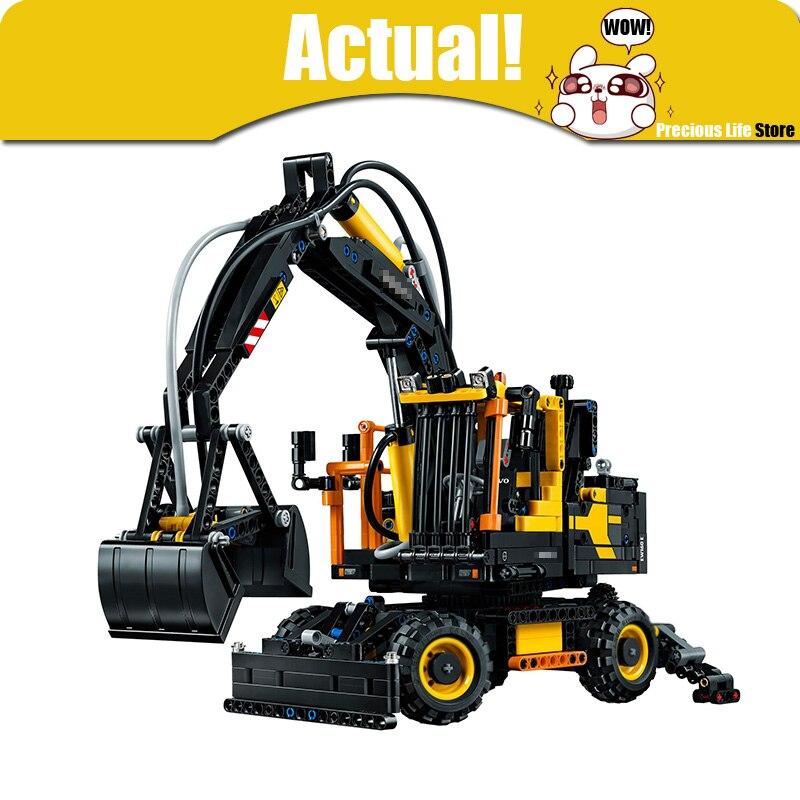 Lepin technic 20023 1166 pcs Technique Le tracteur pelle ensemble Éducatif Blocs De Construction Briques Jouets pour garçons legoings 42053