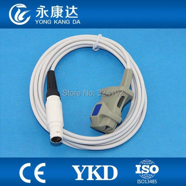 2pcs/pack Adult Soft Tip spo2 probe sensor for Medical Vitalert 10002pcs/pack Adult Soft Tip spo2 probe sensor for Medical Vitalert 1000