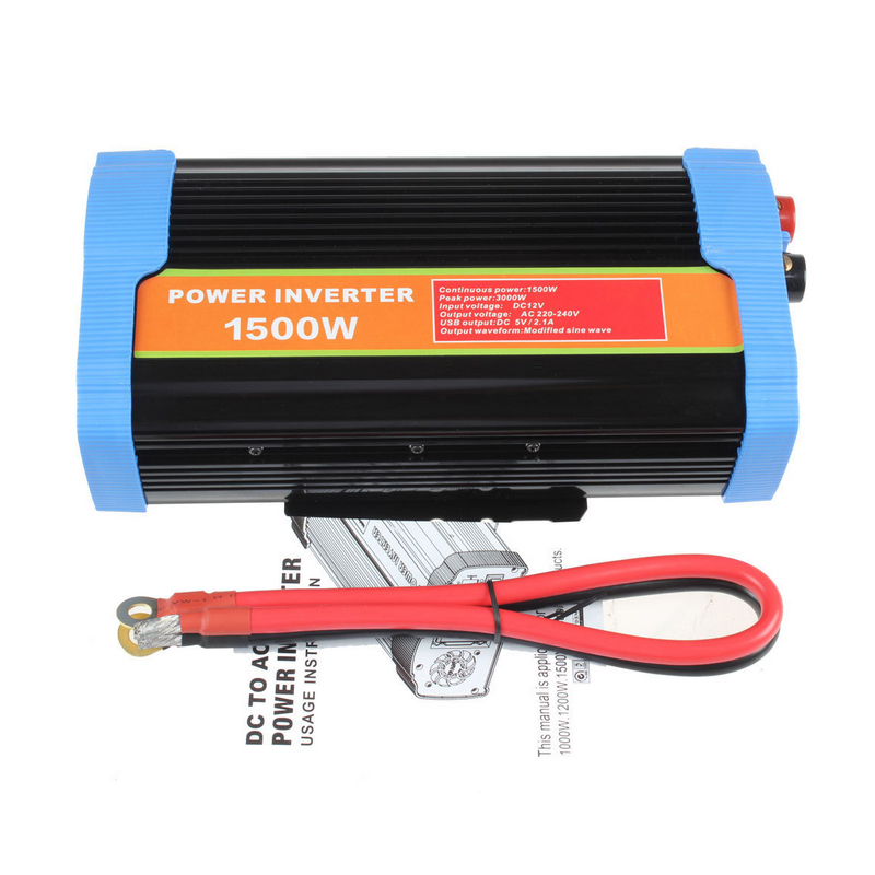DC to AC 12v 220v 1500w off-grid power inverter7