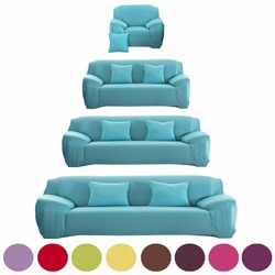 Sofa Cover Flexible Stretch Big Elasticity Couch Cover Sofa Funiture Cover For Single Two Three Four Seats Soft Flannel Slipcove