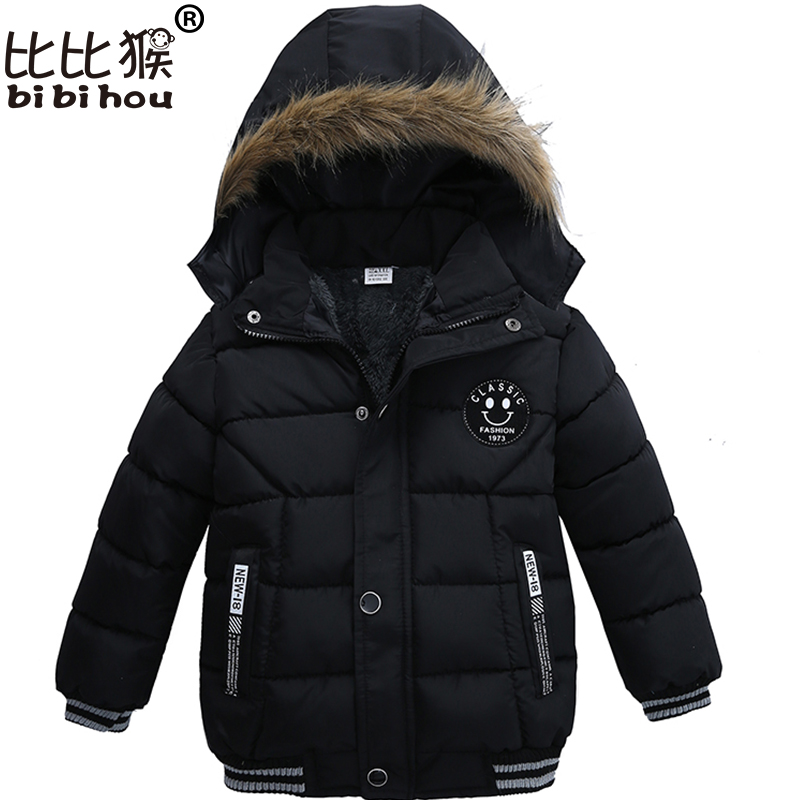 Baby Winter outerwear & coats Kids Warm Hooded fashion down parka Children Jackets Boys Girls Cotton snow wear snowsuit  clothes 2017 winter baby coat kids warm cotton outerwear coats baby clothes infants children outdoors sleeping bag zl910