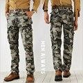2016 calças dos homens do exército outono moda pendurado calças virilha basculador patchwork harem pants calças virilha grandes calças de Camuflagem dos homens tamanho 38