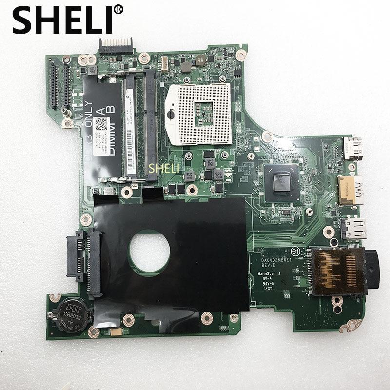 Bilgisayar ve Ofis'ten Anakartlar'de SHELI DELL Laptop anakart IÇIN Vostro 3450 V3450 PC HM67 Anakart CN 0JYYRY 0JYYRY DA0V02MB6E0 DDR3 % 100% test tamam title=