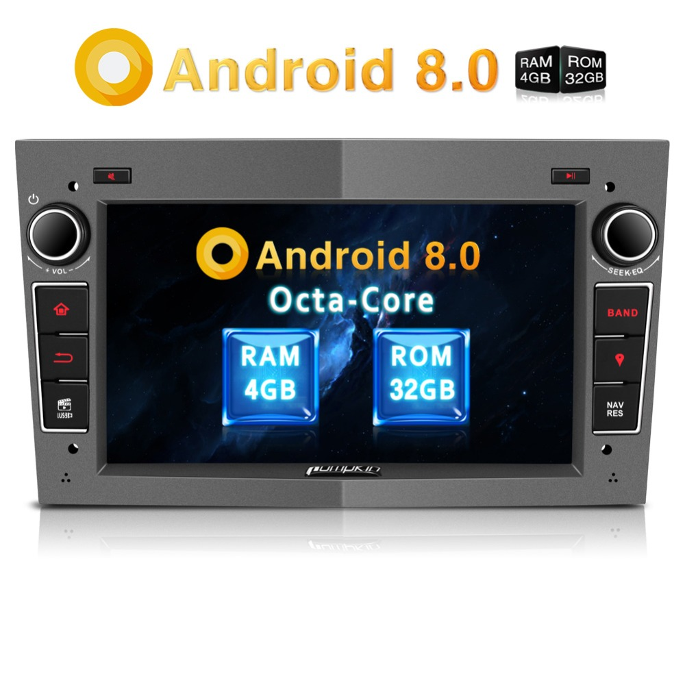 Pumpkin 2 Din 7 Android 8 0 Car Radio No DVD Player GPS Navigation Qcta core
