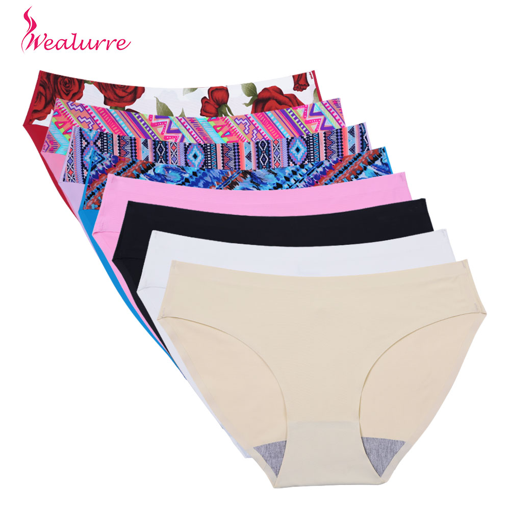 Panties Seamless Briefs for Women Underwear Cute Comfortable Bikini Ladies Invisible Traceless Panty Girls Sexy Lingerie 2017