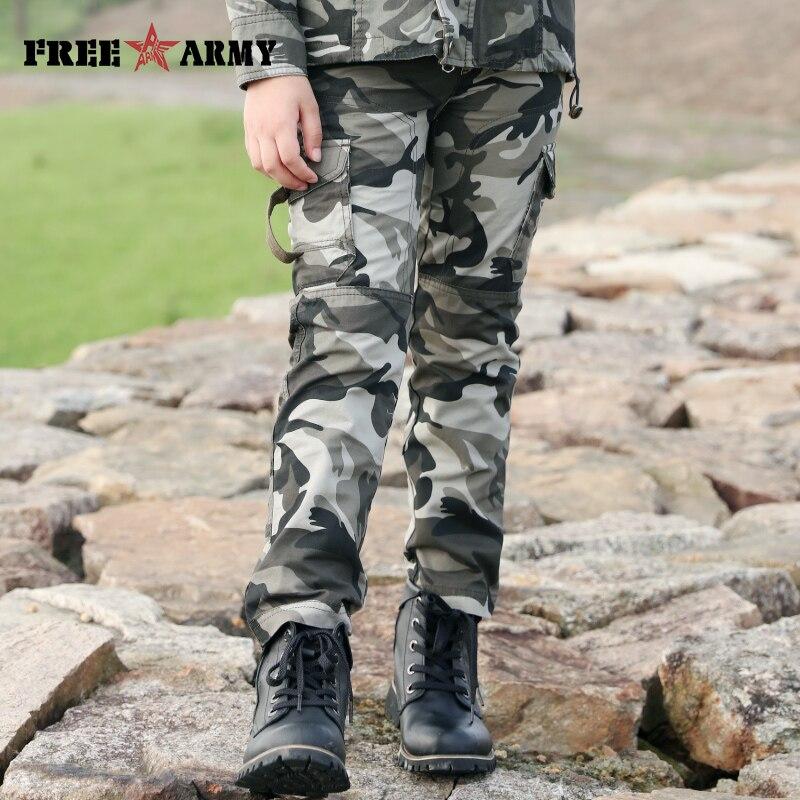 authentisch 2020 billiger Verkauf US $16.95 49% OFF|Marke Military Hosen Für Jugendliche Jungen Kleidung  Kinder Camouflage Hose kinder Hosen Armee Camo Taschen Big Size 3 14  jahre-in ...