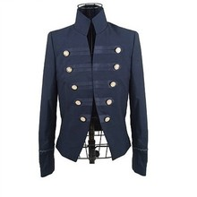 Spring double breasted british style blazer suit jacket male novelty men's clothing  ,Free Shipping