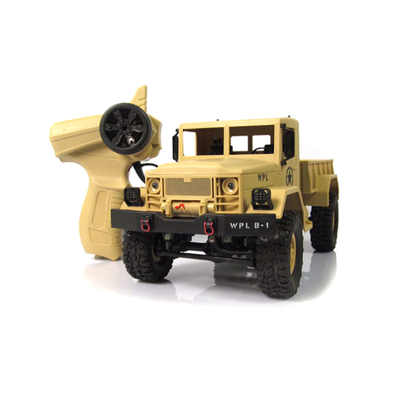 New Arrival WPL WPLB-1 1/16 2.4G 4WD RC Crawler Off Road Car With Light RTR Toy Gift For Boy Children kulak 4x4 1 18th rtr electric powered off road crawler 94680