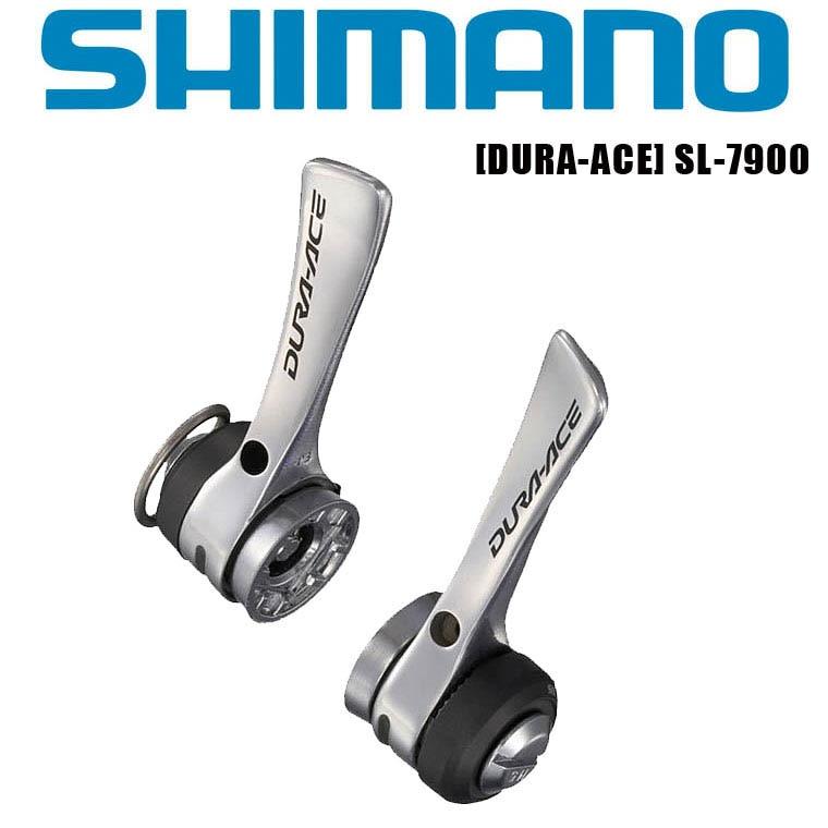 Shimano Dura Ace SL-7900 tube vers le bas manettes de vitesse argent, paire, 2/3x10 vitesse