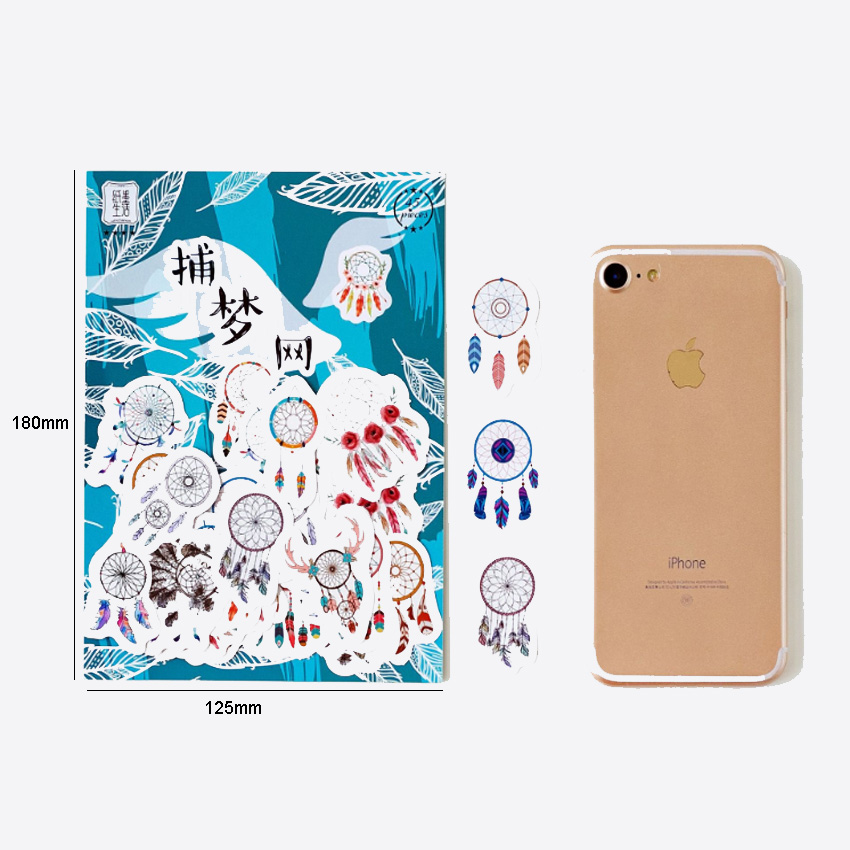 Купить с кэшбэком 45pcs/pack Paper Hand Stickers Eight Selection Scrapbooking Stationery Daily Stickers And For Gift