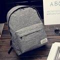 2017 NEW Women backpack Fashion canvas school backpack girl simple school bag for women casual women travel bag maleta escolar