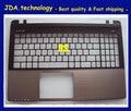 "NEW/Orig US For 15.6"" Asus K55VD X55A K55a K55vd X55V K55VM A55VD A55VM pamlrest topcase Upper Cover Keyboard Bezel,Gold Gray"