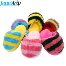 1PC Pet Dog Toys Soft Plush Slipper Puppy Sound Chew Toy 16*9cm