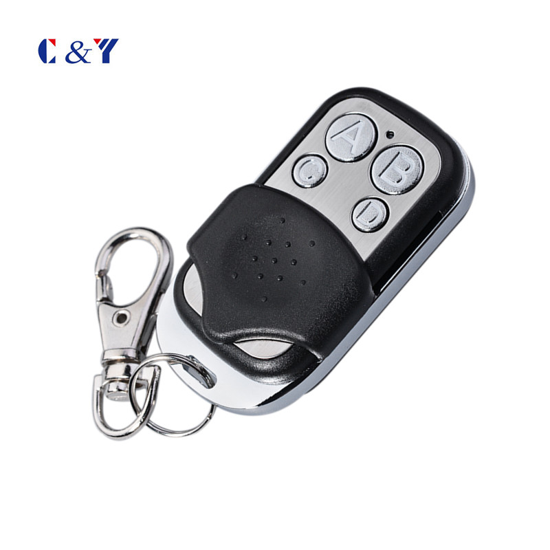 Free shipping 100pcs Universal cloning Remote Control Key Fob for Car Garage Door Gate 433mhz