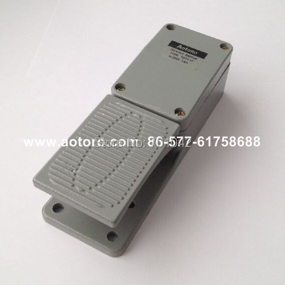 foot control switch YDT1-17 10A current aluminium china manufacturer