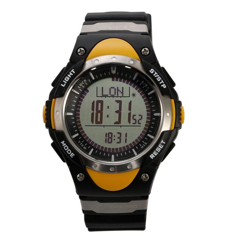 цена на SUNROAD FR828A Men Smart Sports Digital Watches-Altimeter Pedometer Step Counter Outdoor Original Digital Men Sports Wristwatch