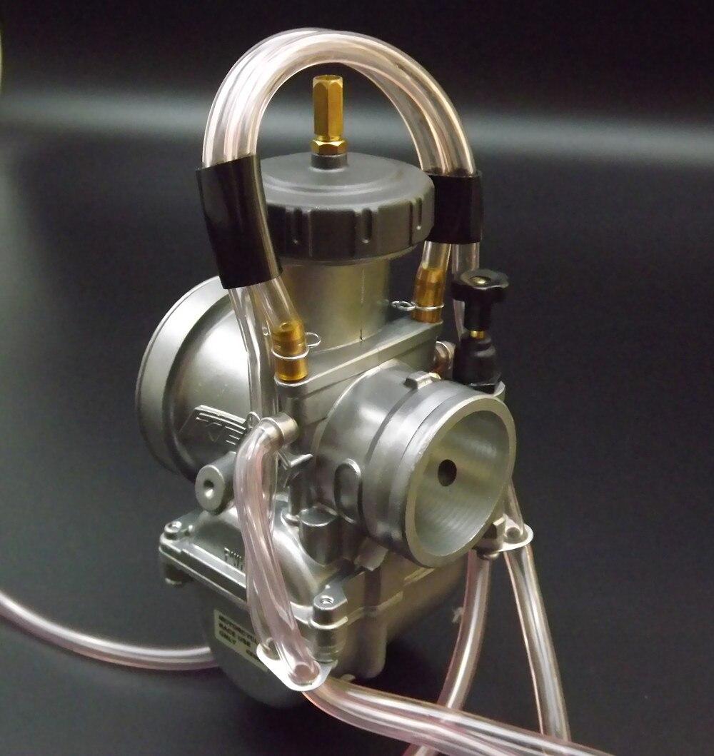 Universel Quad Vent Carb PWK 36 38 40mm PWK38 COMME/S66 38mm AIR ATTAQUANT pour KEIHIN CARBURATEUR POUR TRX250R CR250 LT250 - 3
