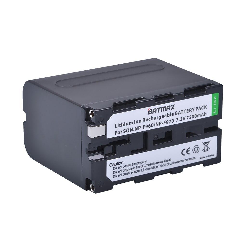 1 pcs NP-F970 NP F970 NP-F960 Appareil Photo Numérique Li-ion Batterie Pour LED lumière de Caméra Vidéo Pour Sony CCD-RV100 CCD-TRV58 DCR-TRV110K