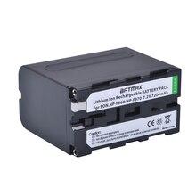 1Pcs NP-F970 NP F970 NP-F960 Digital Camera Li-ion Battery For LED Video Camera light For Sony CCD-RV100 CCD-TRV58 DCR-TRV110K