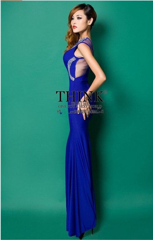 Распродажа с О-образным вырезом Crstyal Длинные платья для вечеринки вечерние платья Robe de soiree Abiti da сывороток vestido de festa longo com H0620