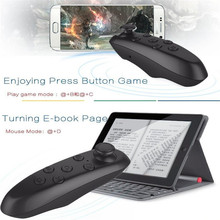 Bluetooth Wireless VR Box Remote Control Gamepad 3D VR Glasses Android IOS Mobile Phone Universal Portable Mini Game Controller