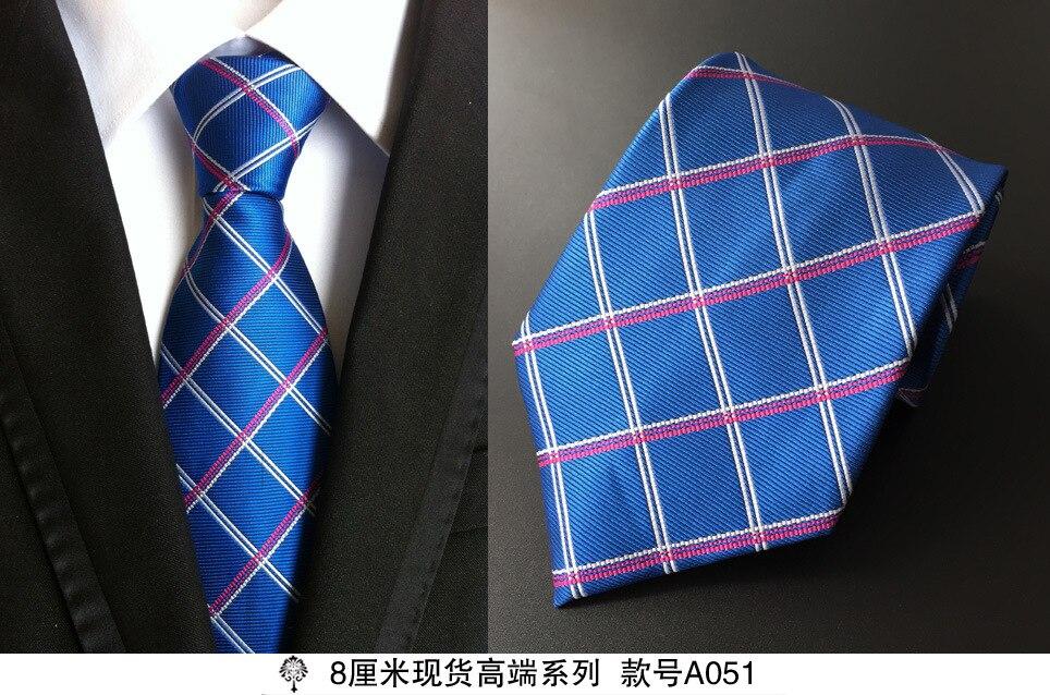 8 cm dasi leher untuk pria mewah 100% sutra mens dasi 8 cm corbata - Aksesori pakaian - Foto 4