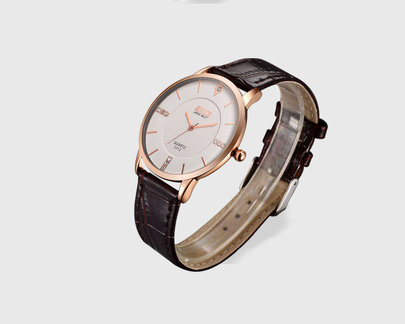 лучшая цена Genuine tungsten steel watch waterproof 2018 new fashion trend simple atmosphere rose gold quartz watch