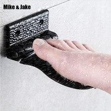 Miejsca aluminium łazienka pedał prysznic Anti slip bezpieczeństwa podnóżek bezpieczeństwa pedał wieszak łazienka półka akcesoria