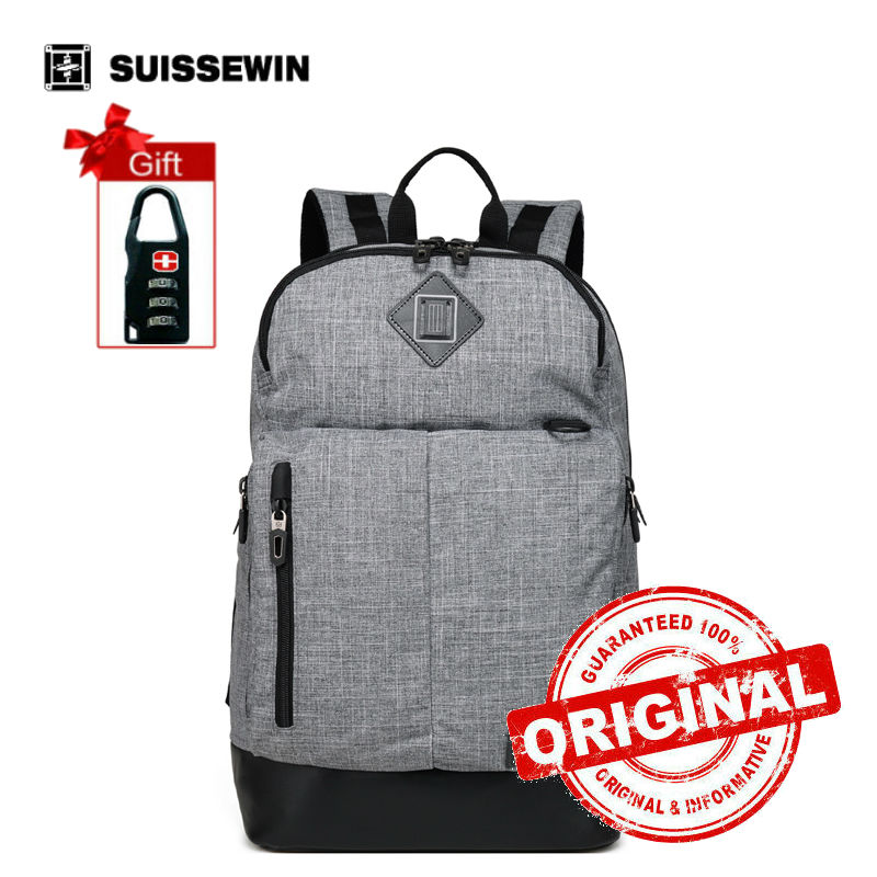 Suissewin girls school 17 inch laptop backpack kpop bags women shoulders bag for teenagers travel famous brand bag SNE1640 jacodel 2017 business 15 inch laptop bag computer backpack bags for men women school bag backpack for teenagers travel bags case