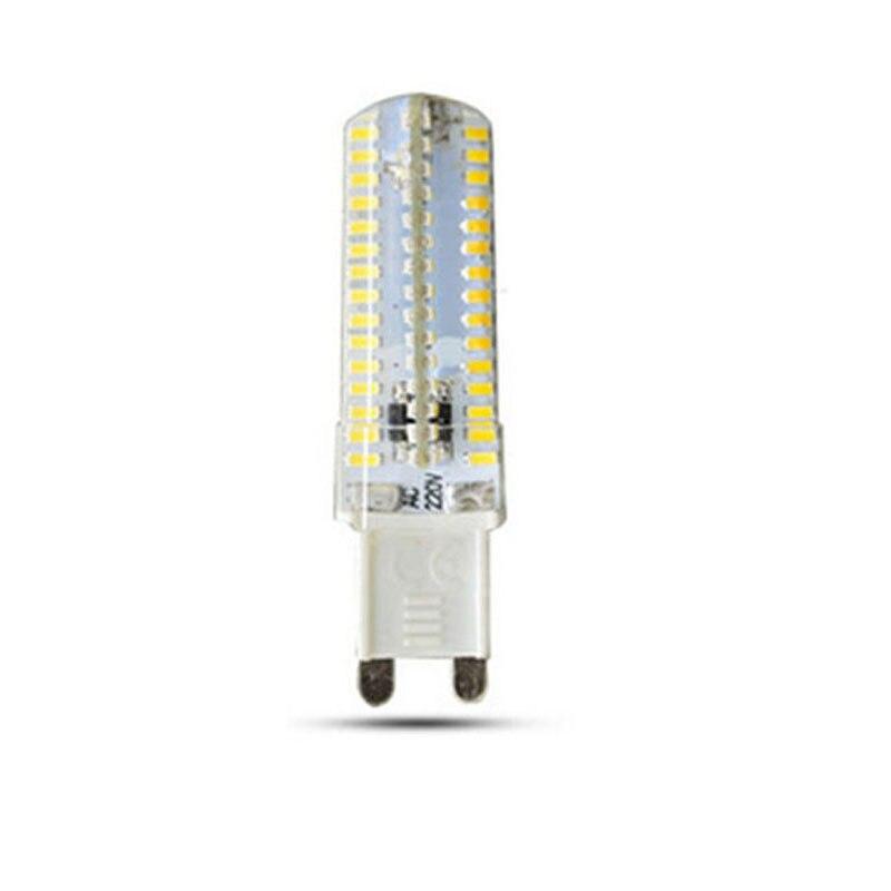 1PCS 48LED- 120LED 3014SMD dimmable G9 LED lamp light 220V 230V 240V Replace 40W-100W halogen lamp 360 Beam Angle LED Bulb lamp