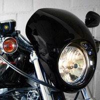 Motorcycle Accessories Matte Black Head Light Fairing Mask Front Visor For Harley Sportster 883 1200 XL
