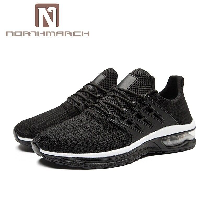 En Northmarch Hommes Hombre Casual Noir Qualité Sneakers Deportivas Respirant rouge Marche Zapato Chaussures Mesh Mâle Haute Air gris De Plein 1wqfEnwSP