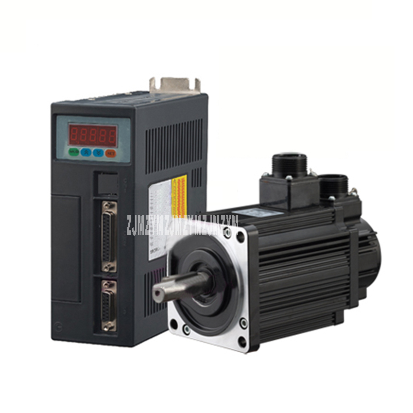 New High-quality 130ST-M10025 AC Servo Motor 220V 10N.M 2.6KW 2500r/min Servo Motor + Driver With 3M Coded Line And Motor Line free shipping 2 6kw ac servo drive and motor cnc servo kit 130st m10025 10n m 2500rpm servo motor driver