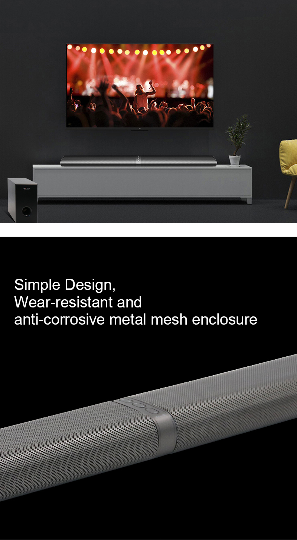 60 Watt 3D Heimkino TV Soundbar Bluetooth Lautsprecher Wireless ...