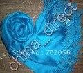 Твердый длинный шарф хлопок Шарфы обруча Шали Пашмины Твердые Шарф Шаль Wrap подарков 2 шт./лот ПРОДАЖА #1963