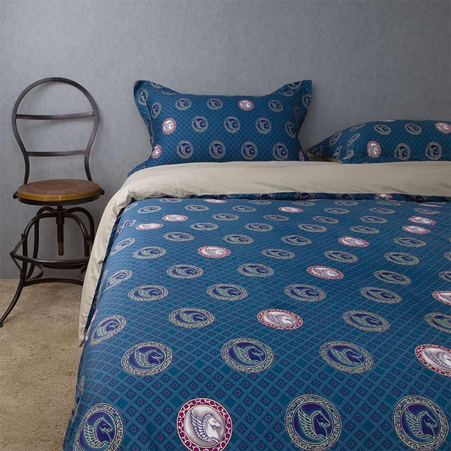 ᗑ】100% algodón de la vendimia dobles juegos de cama rey, reina ...