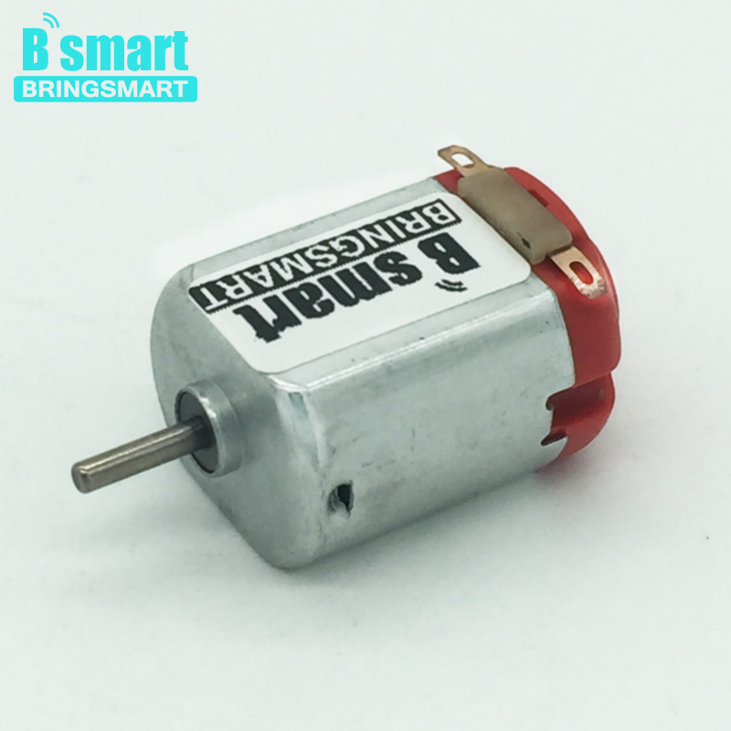 Bringsmart 20pcs 130 Micro Motor 3v Dc High Speed Electric
