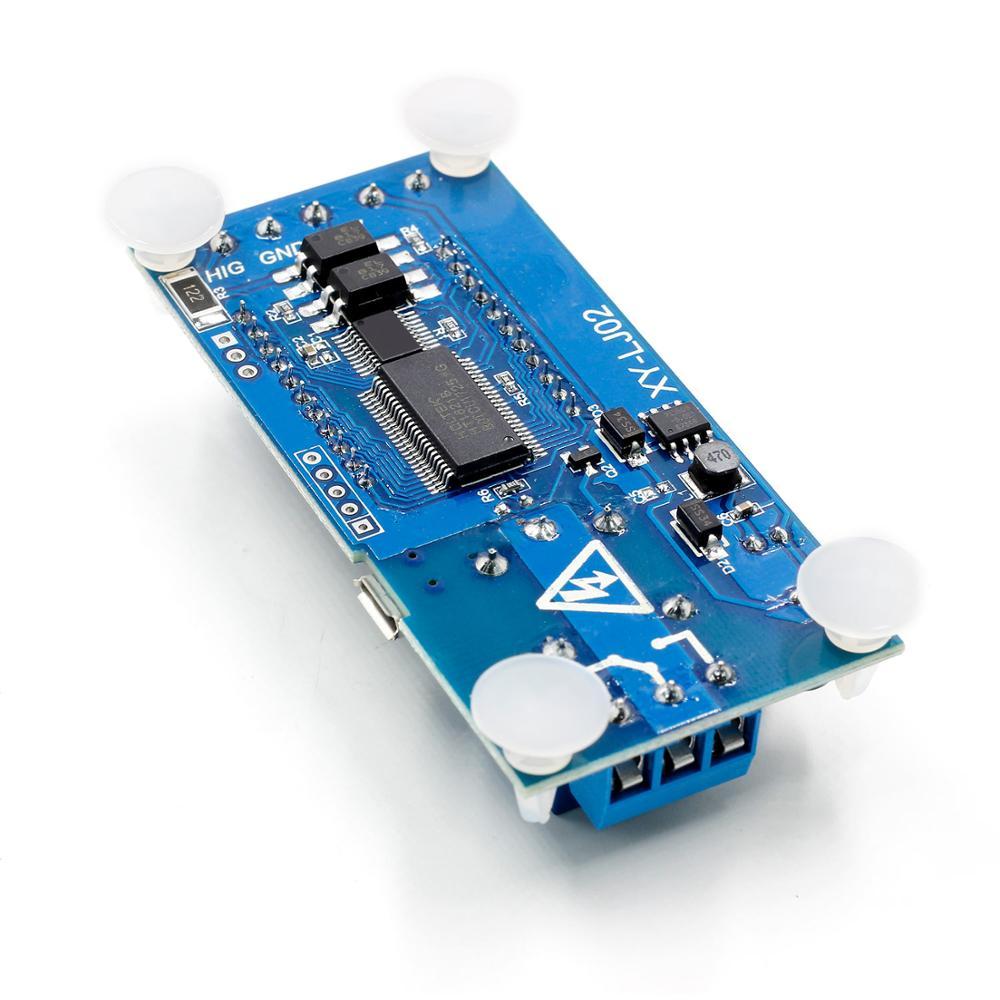 6-30 в микро USB цифровой ЖК-дисплей реле задержки времени модуль управления таймер переключатель цикл запуска модуль