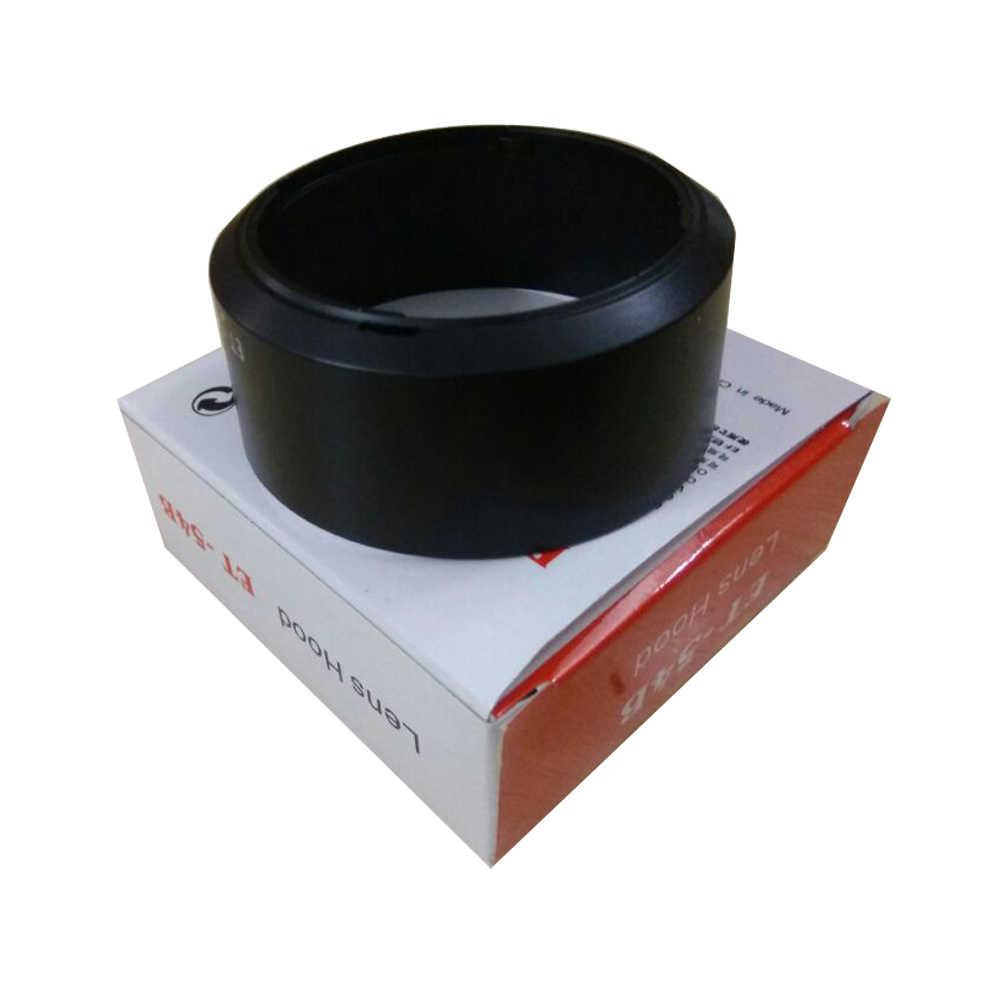 ET-54B ET54B عدسة هود ل eosm3/m5/m6m/m10 كانون EF-M 55-200 مللي متر f/4.5-6.3 هو STM كاميرا