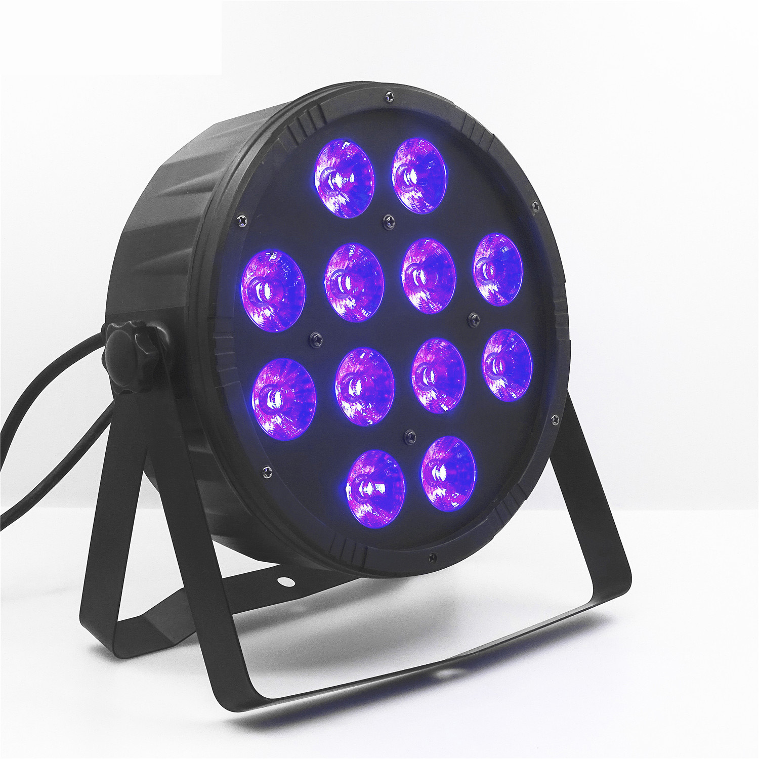 12 A 12w Plastic Flat <font><b>Led</b></font> <font><b>Par</b></font> RGBW 4in1 Four-in-One <font><b>12x12w</b></font> Professional Stage Lighting Equipment image